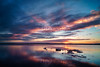 Sunset over the salt lake in Torrevieja (rtenny) Tags: sunset afterglow atmosphere beach calm cloud dawn dusk evening fairweather gray horizon lake landscape morning nature noperson ocean outdoors redsky redskyatmorning reflection sea seascape shore sky summer sun sunrise water