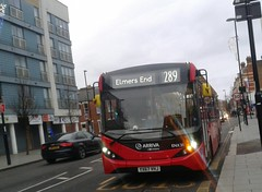Arriva London South ENX31 YX67VHJ | 289 to Elmers End (Unorm001) Tags: red london single double deck decks decker deckers buses bus routes route diesel yx67vhj yx67 vhj enx31 enx 31