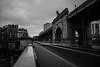 Pont Bir-Hakem Paris (David-Charles Arrivé1) Tags: paris pont birhakem nb nd400 x100f france poselongue