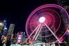 Hong Kong Farries Wheel (samuel.w photography) Tags: hongkong longexposure night lighttrail