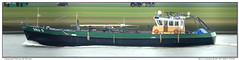 Bru-9 Levien (Morthole) Tags: slitscan ship boat schip boot barge binnenvaart schiff rheinschiff bru9levien fishingship fishingboat vissersboot fischerboot bateaudepeche