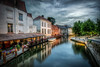 Brugge Canal (Jacob Surland) Tags: architecture art belgium boat boats bruges brugge brügge building canal caughtinpixels city citybynight cityscape clouds country drama dramaticclouds dramaticsky fineart fineartphotography geometry hdr highdynamicrange jacobsurland light lights lines longexposure night oldbuilding realismdigitalart reflections sunset time transport transportion water