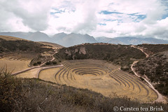 The terraces of Moray (10b travelling / Carsten ten Brink) Tags: 10btravelling 2017 america americas andean andes carstentenbrink ccollpaqtoqo cusco cuzco iptcbasic inca inka inkas latin latinamerica moray perou peru peruvian perú qechuyoqmuyu simamuyu southamerica suedamerika urubamba agricultural argriculture concentric crops exprerimental farming favefiveplus highlands lasierra laboratory microclimates serrano sierra tenbrink terraces terracing valley