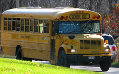 First Student #133 (ThoseGuys119) Tags: wallkillvalleyschoolbusserviceinc firststudentinc schoolbus thomasbuilt wallkillny nyspecblackouttinted windows international 3800 dt466 retired 1999