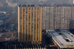 Vista Of Katowice, Poland (Midnight Believer) Tags: katowicepoland vista birdseyeview city urban buildings streets silesia europe