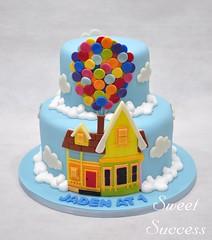 Disney Up Cake (sweetsuccess888) Tags: disney disneyup upcake uphouse cake birthdaycake balloons sweetsuccess philippines
