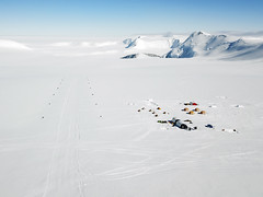 Mount Vinson Base Camp (Christopher.Michel) Tags: il76 antarctica ale ice blue