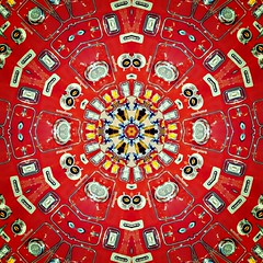 Firetruck Kaleidoscope | front end view spiral art (delmarvausa) Tags: alteredart perspective artistic art altered unusual kaleidoscope circular spiral spirals circle repeating pattern kaleidoscopeart delmarva delmarvapeninsula firetruck fireengine marylandstateflag maryland frontend frontgrill firetrucks lights red thecolorred fireengines firetruckart thingsthatarered firedepartmentsofdelmarva firedepartment rescue