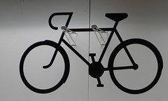 Black bike (spelio) Tags: ikea shopping sets test a6000 sony stuff things shooting art display bicycle bike rack bw