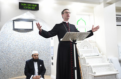 The Right Rev Philip North  Bishop of Burnley, speaks during the Mosque Open Day event (blackburndiocese) Tags: archbishopofyork bishop bishopofblackburn julianhenderson philipnorth geoffpearson faith mission missionevent bible christ johnsentamu whalley kirkham blackburn blackpool garstang tunstall lancasterandmorecambe cathedral whalleyabbey poulton chorley leyland preston accrington burnley pendle vision2026 evangelism evangelist evangelising lectern pulpit pew procession crossroads crossroadsmission lancashirediocese newcastlediocese durhamdiocese yorkdiocese leedsdiocese sheffielddiocese southwellandnottsdiocese carlislediocese manchesterdiocese liverpooldiocese sodorandmandiocese chesterdiocese churchofenglandinlancashire churchofengland witness prayer jesus jesuschrist god holyspirit reformation crossroads2016 crossroadslancs messychurch messyeucharist eucharist eucharisticfestival cathedralcelebration