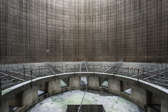 Secret Tower (Nicolas Pluquet) Tags: cooling tower industry factory lost abandoned urbex urban exploration sony ilce7m2 a7ii voigtlander architecture