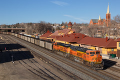 BNSF 9356 Colorado Springs 18 Feb 18 (AK Ween) Tags: bnsf bnsf9356 emd sd70ace coloradosprings colorado jointline drgw riograndedepot denverriograndewestern train railroad