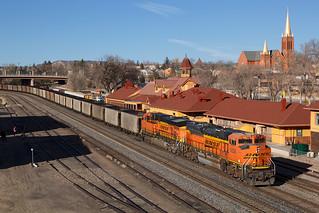 BNSF 9356 Colorado Springs 18 Feb 18