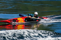 Mean Lean (Prestidigitizer) Tags: sunshinecoast water kayak paddle standingwaves sport action pentaxk3 pentaxda50135mm skookumchucknarrows tidal