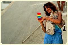 Human Stories - Laugh (Storyteller.....) Tags: human stories woman summer selfie laugh joy enjoy colors