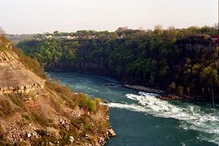 Whirlpool Rapids in the Niagara River