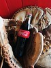 Coca Cola and baseball (annaaltenburger) Tags: red fizzy carbonated beverage drink play game summer traditional allamerican american soda coke sports baseball