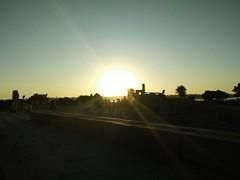 (nanisalleh) Tags: nile rivernile nilecruise komombo temple templeofkomombo egypt sun sunset