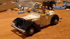 Citroen Traction Avant Cabriolet WIP (Rebla) Tags: citroen traction avant cabriolet lego rebla car french