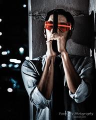 Shadowrun Face 2 (Paul Cory) Tags: alienskin atlanta availablelight city cosplayer costume dragoncon dragoncon2017 exposurex3 faceman fujicamera fujilens fujifilmxt2 fujifilmxf50140mmf28rlmoiswr georgia gun handgun iridient iridientxtransformer jasonhaber lighting luminar2018 macphun man negotiator night people portrait postprocessing sciencefictionconvention season semiautomatic shadowrun skylum summer timeofday unitedstates urban weapon