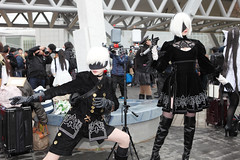 MiNe-5DII_107-2164UG (MiNe (sfmine79)) Tags: japan cosplay comicmarket winter rainy 日本 東京 gps nierautomata canoneos5dmarkii canonef2470mmf28lusm photo