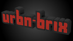 Logo 1 (URBN-BRIX) Tags: lego ldd studio model legomoc instalego brick bricks cad urbanbrix studs legoscene legorendering beyondthebrick zusammengebaut brothersbbrick plastic brickshow