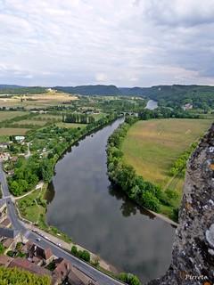 vue sur la Dordogne