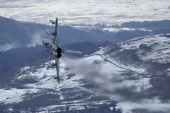 Bwlch to Bala (Treflyn) Tags: raf royal air force lfa7 low fly panavia tornado tonka gr4 za588 056 pull out mach loop bwlch lake bala north wales