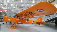 Auster T.7 Antarctic United Kingdom Air Force serial WE600 (sirgunho) Tags: united kingdom cosford royal air force museum raf preserved aircraft helicopter jets usaf serial england auster t7 antarctic we600