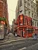 Dublin, Ireland (jacek_szacho-głuchowicz) Tags: street streetview architecture building pub bar dublin ireland people irish thetemplebar bankers