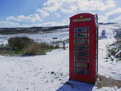 Birling Gap Phone Box? (Mal B) Tags: uk countryside seven sisters birling gap beachy head national park trust walking south coast cliffs