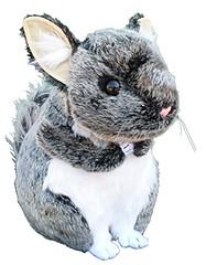 """ADORE 12"""" Gizmo the Chinchilla Plush Stuffed Animal Toy (saidkam29) Tags: adore animal chinchilla gizmo plush stuffed"""