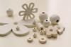 Trinkets (adelina_tr) Tags: whitebackground macro 7dwf nikond5300 beads oneyearonechallenge whiteonwhite