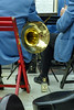 London, England: Teachers Aid (rocinante11) Tags: london england unitedkingdom film filmcamera orchestra frenchhorn whisky blue gold brass