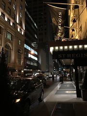 Exterior at night - St. Regis New York (Matt@TWN) Tags: stregis newyork hotel starwood