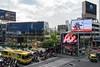 Bangkok, Thailand (stefan_fotos) Tags: asien bangkok qf reisethemen schilder strassenverkehr sujets thailand urlaub asia