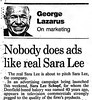 """Nobody does it like Sara Lee"" / ""Nobody doesn't like Sara Lee"" (The Mandela Effect Database) Tags: nobodydoesitlikesaralee nobodydoesntlikesaralee sara lee nobody does it like mandela effect mandala affect residual proof evidence"