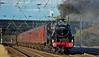 Scarborough Spa Express (paul_braybrook) Tags: 44932 lms class5 black5 steamlocomotive copmanthorpe york northyorkshire scarboroughspaexpress railtour railway trains
