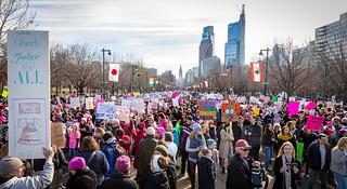 The Women's March 2018 - Philadelphia PA