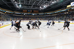 "Kansas City Mavericks vs. Toledo Walleye, January 20, 2018, Silverstein Eye Centers Arena, Independence, Missouri.  Photo: © John Howe / Howe Creative Photography, all rights reserved 2018. • <a style=""font-size:0.8em;"" href=""http://www.flickr.com/photos/134016632@N02/25966332358/"" target=""_blank"">View on Flickr</a>"
