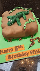 Reptile cake (Victorious_Sponge) Tags: reptile crocodile birthday cake boys girls party snake