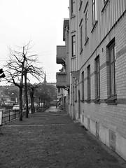 Ånäsvägen, Göteborg, 2011 (biketommy999) Tags: göteborg 2011 biketommy biketommy999 sverige sweden svartvitt blackandwhite