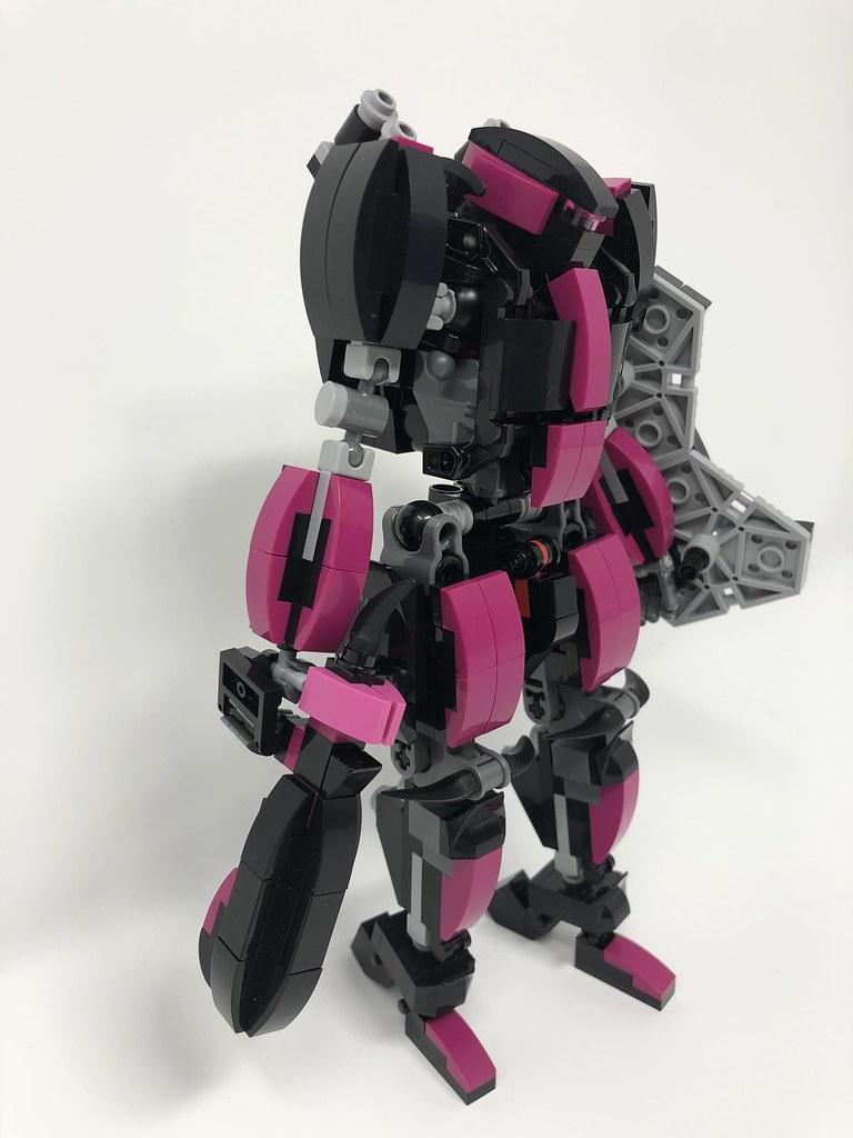 simple lego mech suit instructions