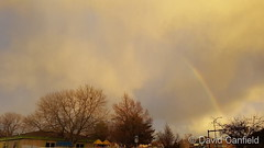 February 5, 2018 - A surprise morning rainbow. (David Canfield)