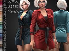 JUSTICE HOLLY JACKET EVENT ([:.UNDERGROUND & JUSTICE.:]) Tags: secondlife fashion avatar virtualworld 3d 2ndlife maitreya slink physique hourglass belleza venus isis freya