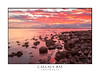 Rich red sunrise over Callala Bay Australia (sugarbellaleah) Tags: callalabay bay sunrise place location australia morning red rich vivid colour sky weather tranquil peaceful beautiful amazing wonderful rocks jervisbay shoalhaven water reflections clouds travel outdoors tourism unwind landscape seascape