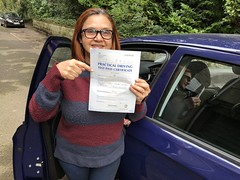 Congratulations Ione Saunders passing his practical test with only 1 minor fault!  It has been a pleasure to teach this lovely lady. Keep safe Ione and enjoy the freedom that driving can gives you.   www.leosdrivingschool.com