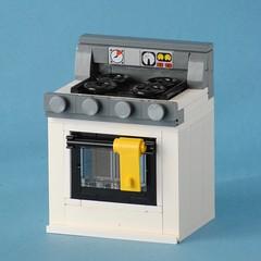 Oven (hensonphile) Tags: lego oven towel burner whatelsedoitagthisitsalegooven thatlasttagishardtoread owaityoucanhyphenate moc miniature largescale contradictory containsmultitudes