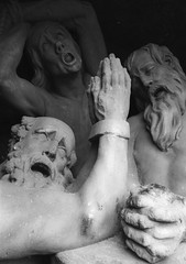 3 Christians  pray to the Lord for salvation (shultstom) Tags: cave which three chained christians pray lord for salvation prague shults charles bridge