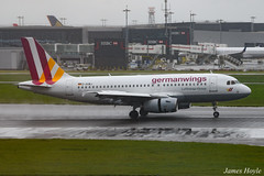 Germanwings D-AGWJ A319 at London Heathrow Airport 15-04-16 (JH Aviation Photography@EGCC) Tags: airliner airport aircraft aviation airways airlines london lhr germanwings